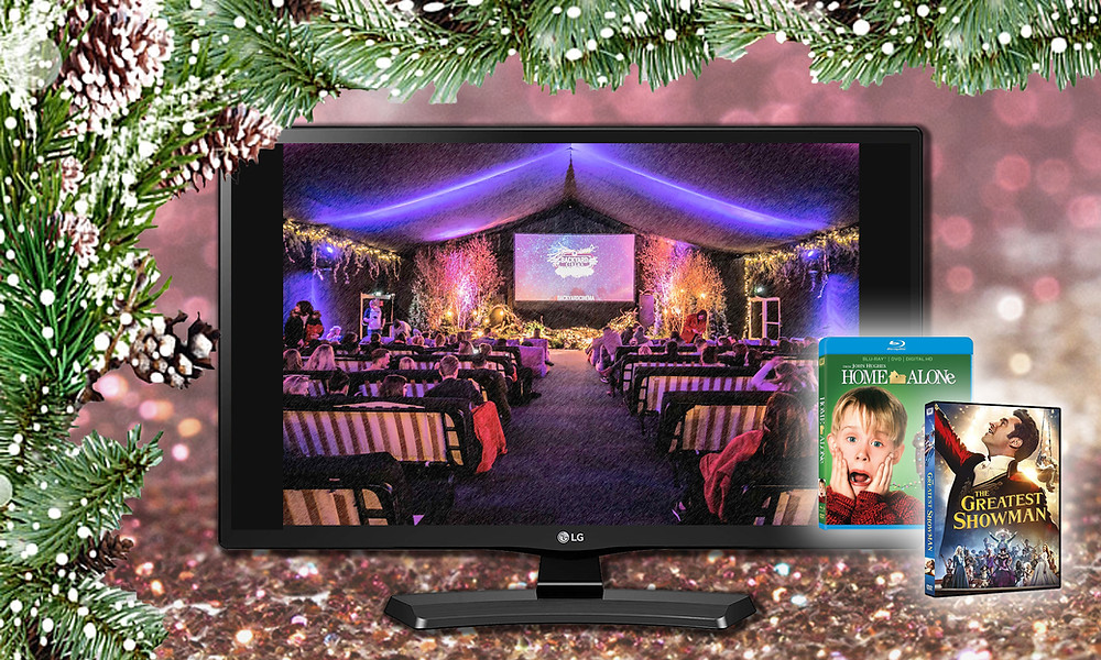 """Backyard Cinema', 'Home Alone' on DVD and 'The Greatest Showman' on DVD"