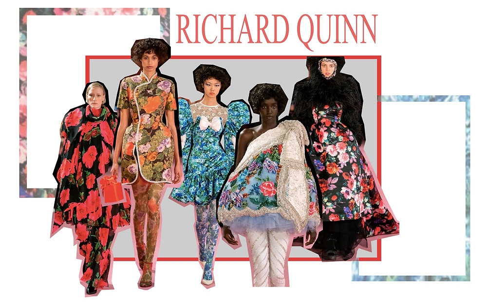 London Fashion Week Richard Quinn Show