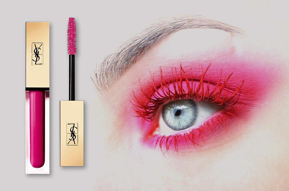 YSL Beauty Vinyl Couture Mascara in Fuchsia