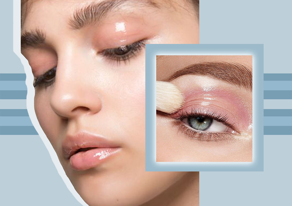 Design for the 'Glossy lids' trend