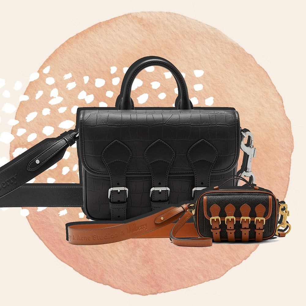 The Messenger and the Mini Crossbody Messenger from the Mulberry x Acne Studios Collaboration