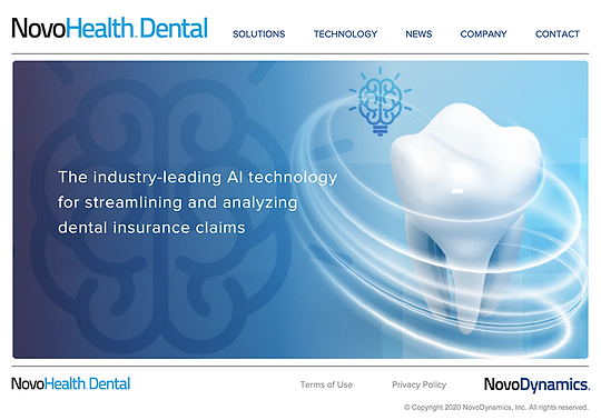 NovoHealth Dental Home Screenshot.png