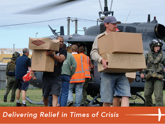 Teaming Up to Help People and Communities in Need
