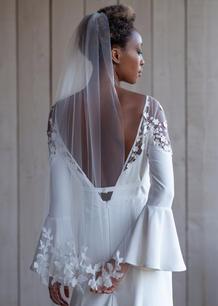 3D lace edged Veil