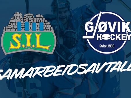Storhamar IL Ishockey Elite og Gjøvik Hockey inngår samarbeid
