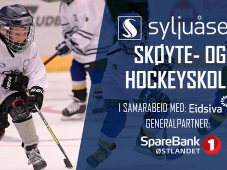 Syljuåsen skøyte- og hockeyskole starter 1. februar klokka 18:00