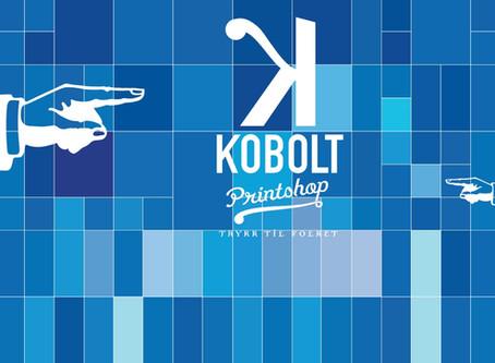 Kobolt Printshop sesongens første kampsponsor