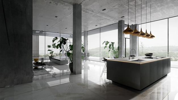 Glass and Concrete