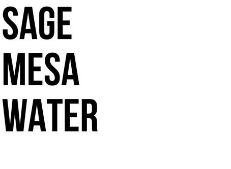 Sage Mesa Water System Fact Sheet