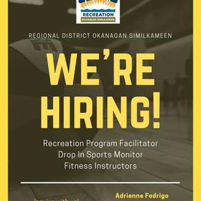 RDOS Opportunity: Recreation Program Facilitator