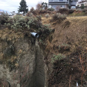 Sage Mesa Culvert between Ladera Place and Solana Cres. Update on June 8 to include north Sage Mesa