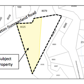 8025 Princeton-Summerland Road Q&A Sheet