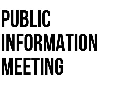 Public Information Meeting: Faulder/Meadow Valley