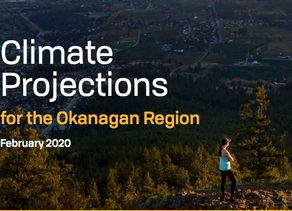 Climate Projections for the Okanagan Region
