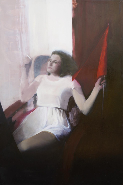 Sulltane, 2017, oil on canvas, 177x120 cm