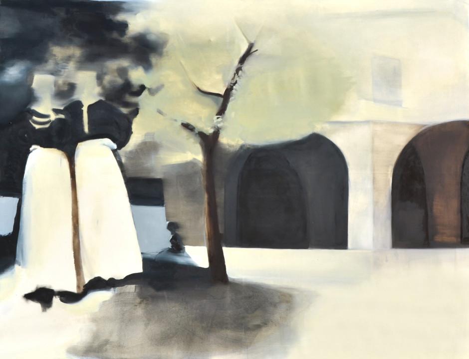 Frammenti d'Abruzzo, 2017, oil on canvas