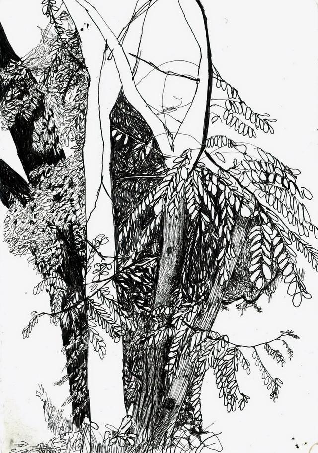 Moleskine 2015, ink on paper, A5