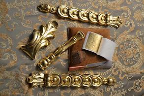 Позолота сусальным золотом