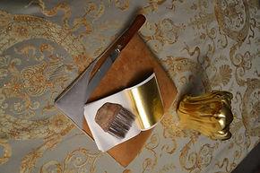 Позолота сусальным золотом киев