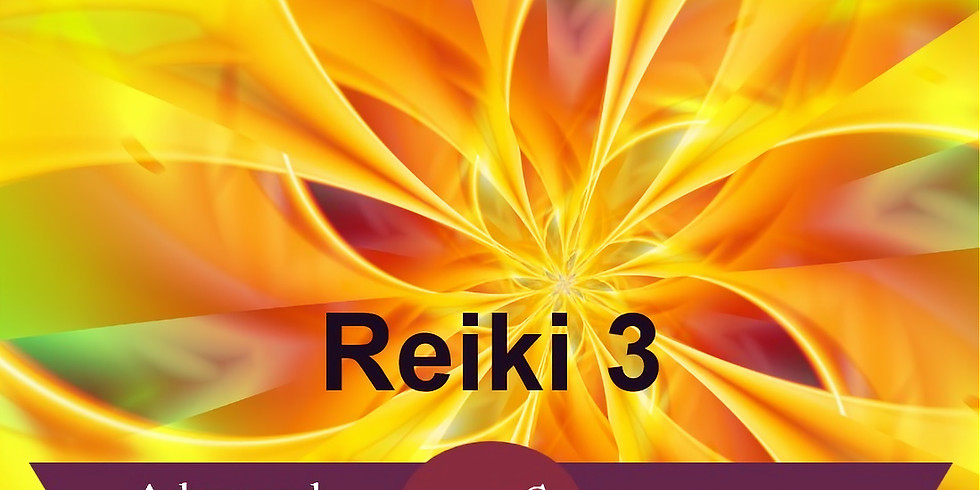 Advanced Master / Teacher : Reiki 3 Training Course