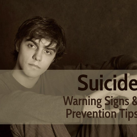 Suicide: Warning Signs & Prevention Tips