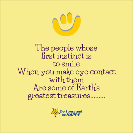 Smiling & Laughter makes you feel HAPPY