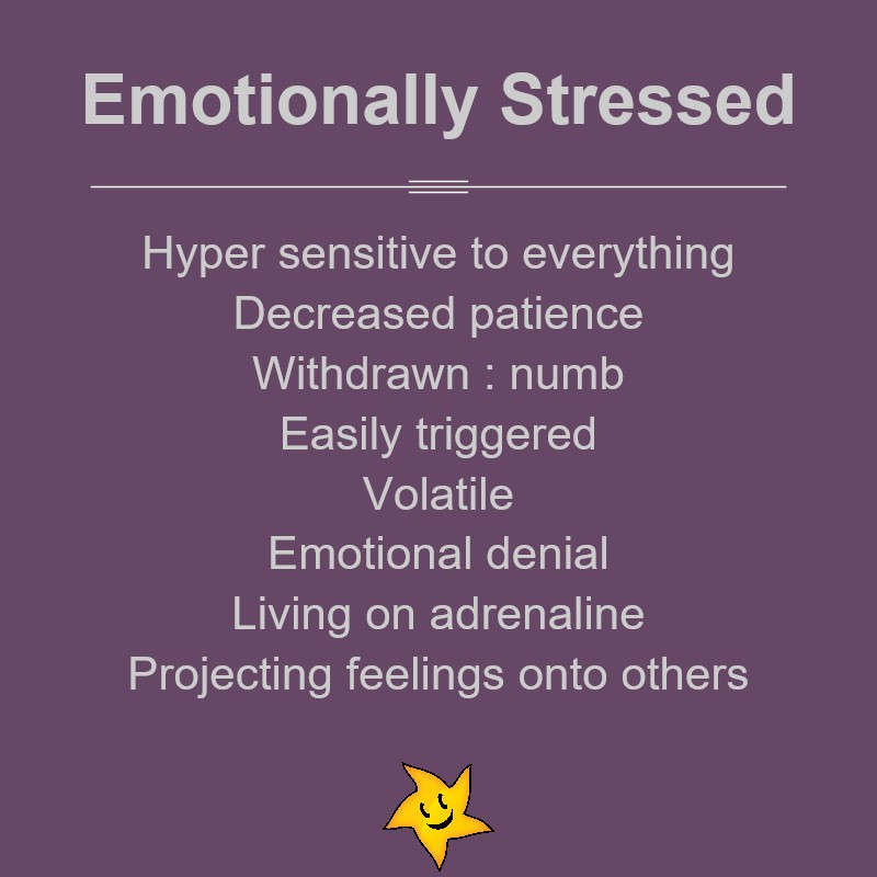 How emotional stress can affect you
