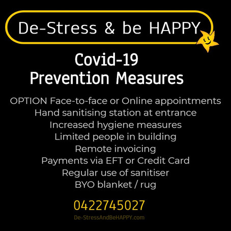 Covid-19 Prevention Measures