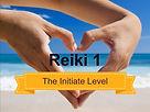 Hands in a heart shape Reiki training