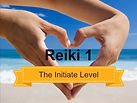 Hands in a heart shape Reiki training