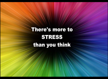 There's more to STRESS than you think...