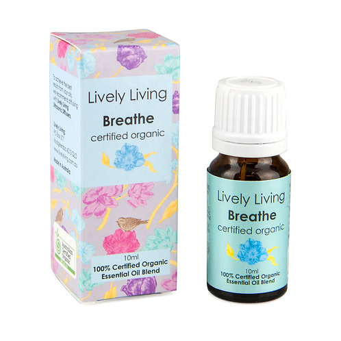 BREATHE – ORGANIC Pure Essential Oil