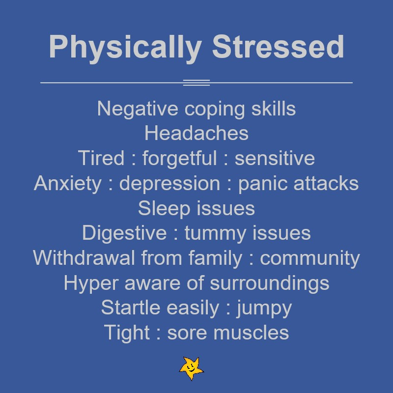 How physical stress can affect you
