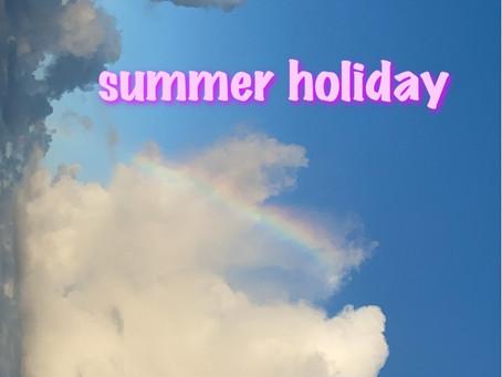 8月夏休みのお知らせ🌺🌊