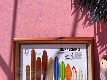 世界でたったの30個のサーフィンのプレートが田澤歯科医院に🏄♂️🏄♀️❤️🔥❤️🔥