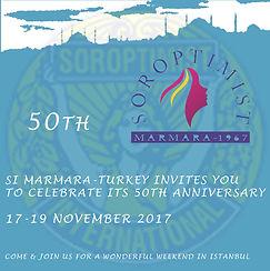 50th Anniversary Marmara Soroptimist