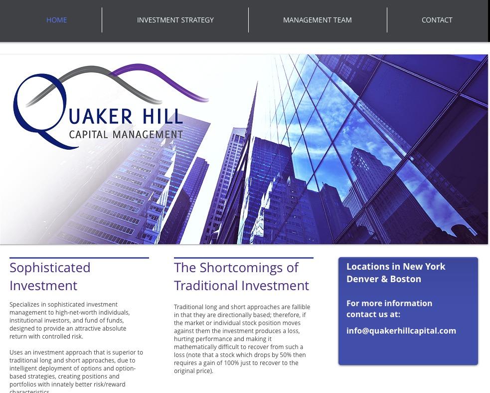 QuakerHill Webpage