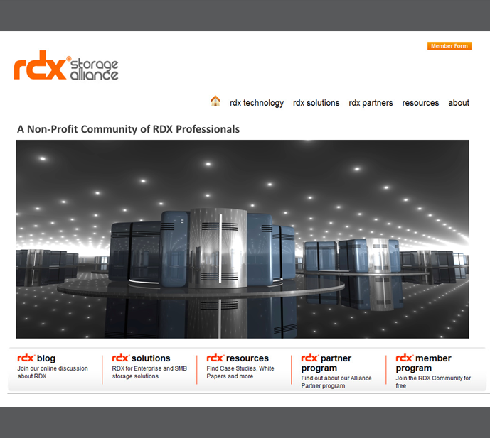 RDX Storage Alliance