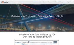 Viviota Home Page Screen Shot