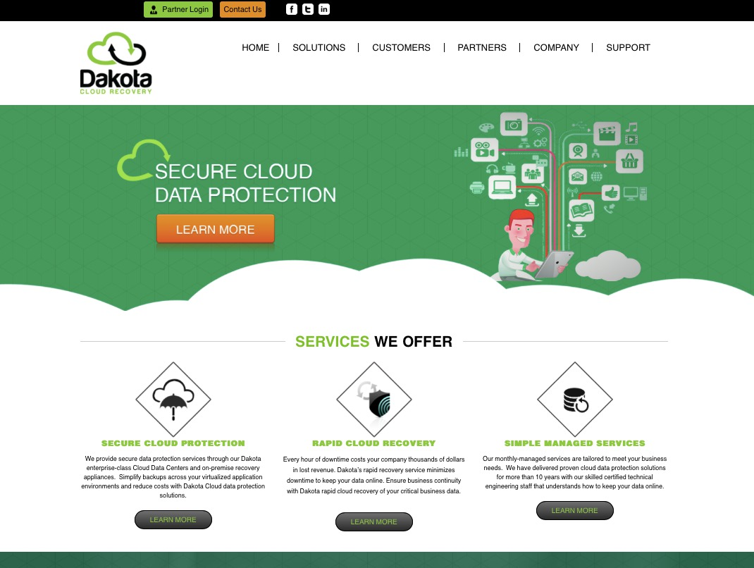 Dakota Cloud Recovery Webpage-2