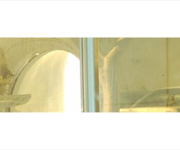 Tel Hashomer 3 - 112 cm X 12 cm. 2012. (29.7.12)