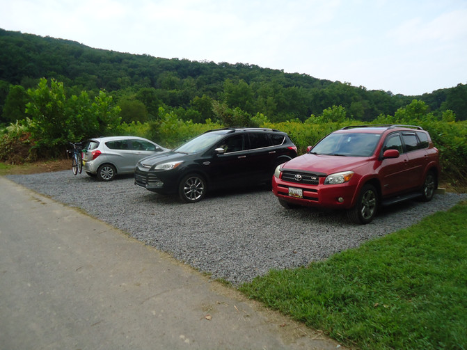 CHECK OUT OUR NEW PARKING AREA AT THE UNION TOWNSHIP BOAT LAUNCH (off Route 11 just north of Shicksh