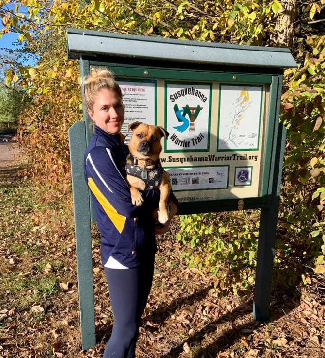 SEPTEMBER 2020 NEPA TRAIL OF THE MONTH IS THE SUSQUEHANNA WARRIOR TRAIL