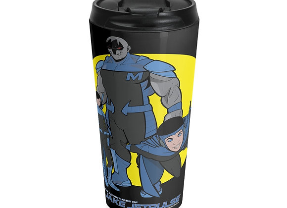 Jake Jetpulse™ Stainless Steel Travel Mug