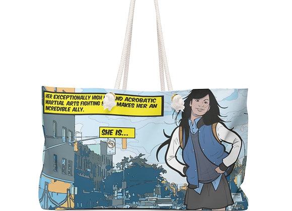"""Julia """"Super Genius"""" Weekender Bag"""