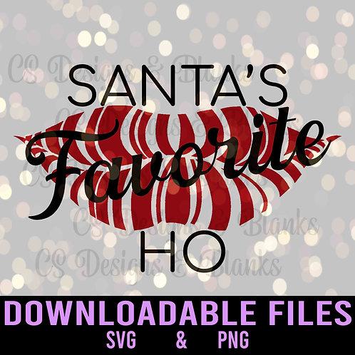 Santa's Favorite Ho - Downloadable Design File