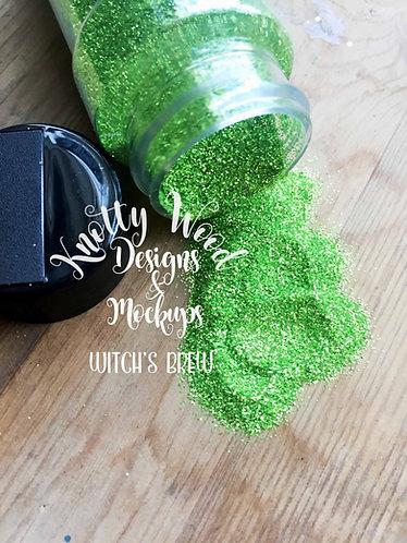Witch's Brew Glitter / Extra Fine Lime Green Glitter / 1/128 glitter / Christmas