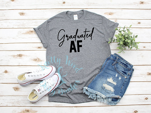 Graduated AF T-shirt style 1 (XXL to 4XL)