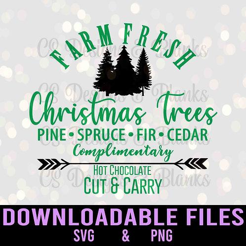 Farm Fresh Trees - Downloadable Design File