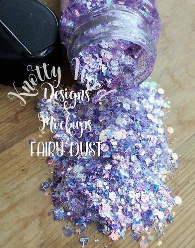Fairy Dust Glitter / Chunky Glitter / Lavender Glitter